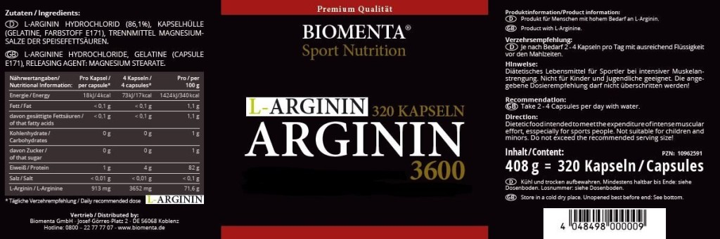 Biomenta-L-Arginin-Kapseln-hochdosiert-3600mg